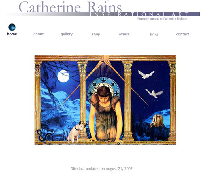 CatherineRains 2007 website