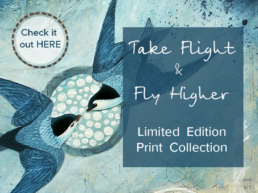 Take flight-Fly higher small print banner