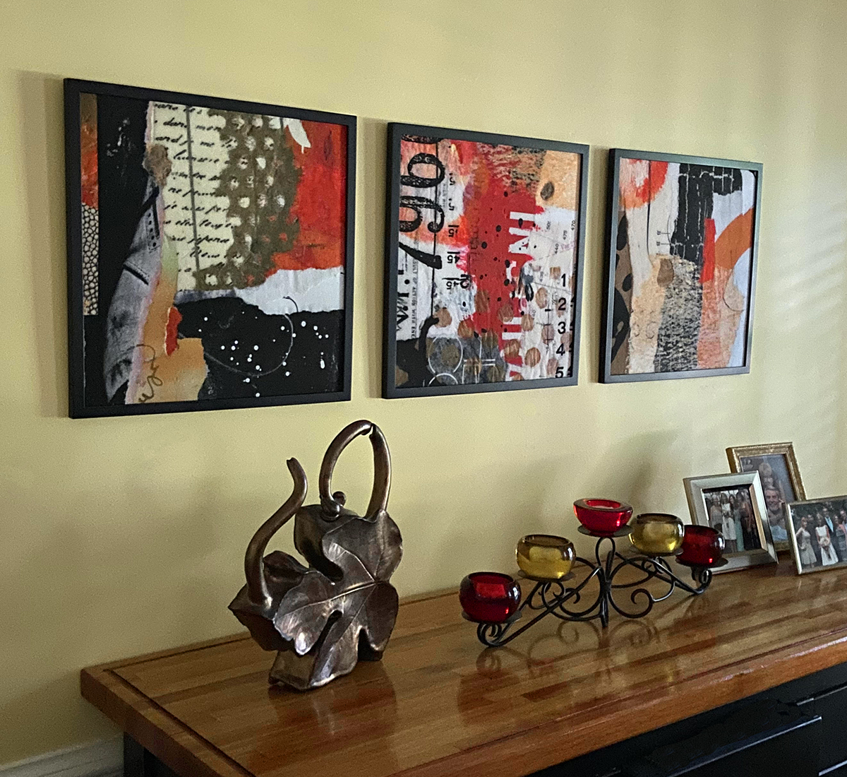 3 pics on dining room 2